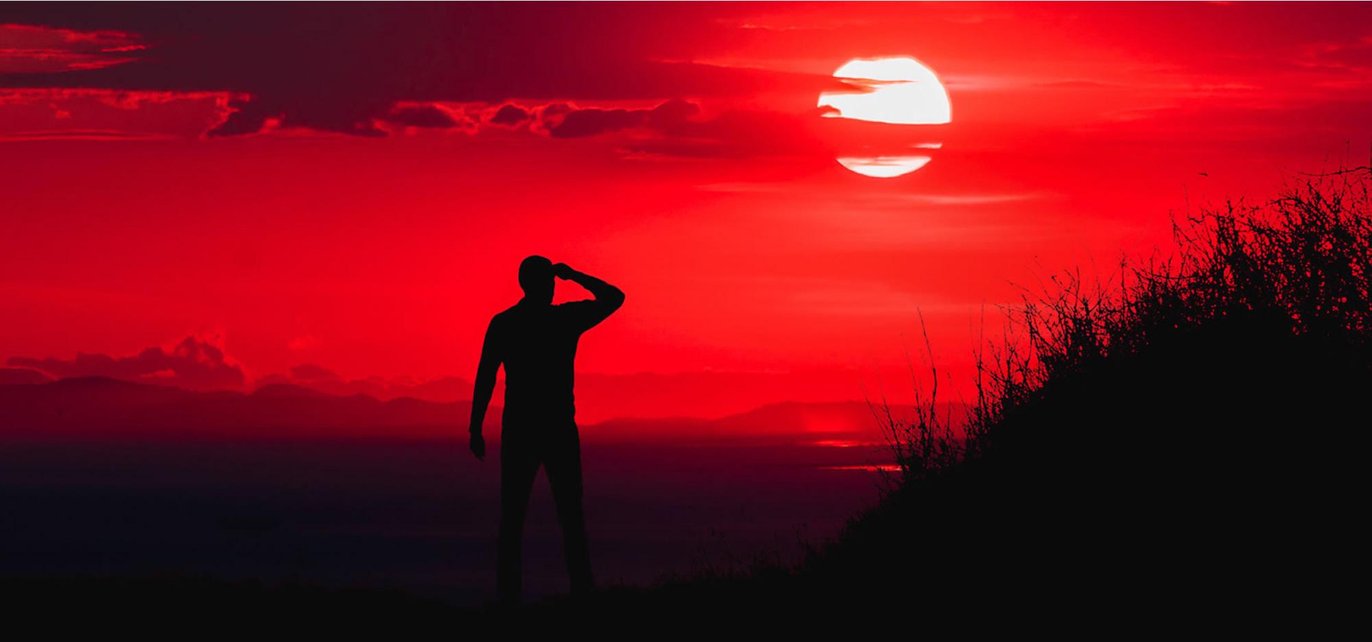 Red Sunset 2000
